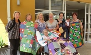 Wyong Quilters Donate to William Cape Gardens Residents