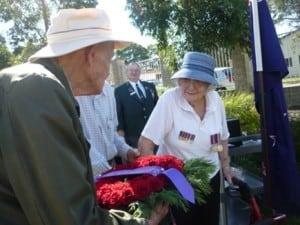 William Cape Gardens ANZAC Day Service